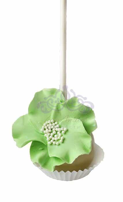 Кейк попс Зеленый цветок