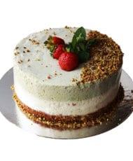 Торт Фисташковый с зеленым чаем
