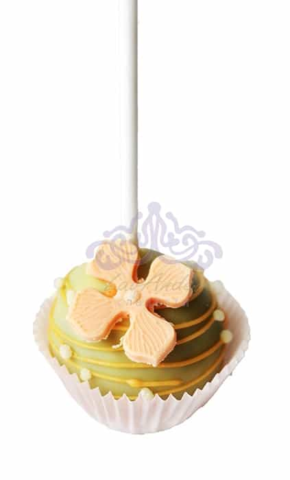 Кейк попс Карамельный цветок