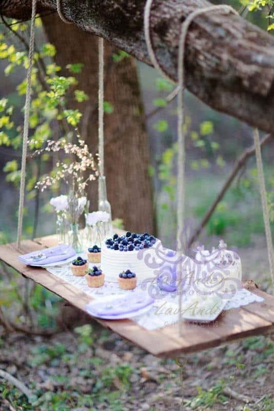 """Сладкий стол """"Лесной завтрак"""""""