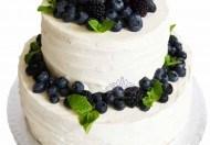 """Свадебный торт """"Ягодный"""""""