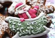 """Имбирный пряник """"Дед Мороз"""""""