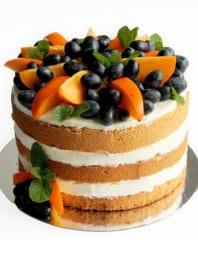 Naked cake с имбирем