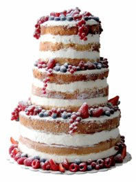 Свадебный Naked cake