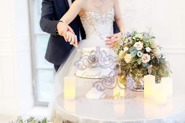 """Свадебный торт """"Ваниль"""""""
