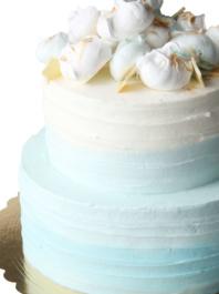 """Свадебный торт """"Ванильное небо"""""""
