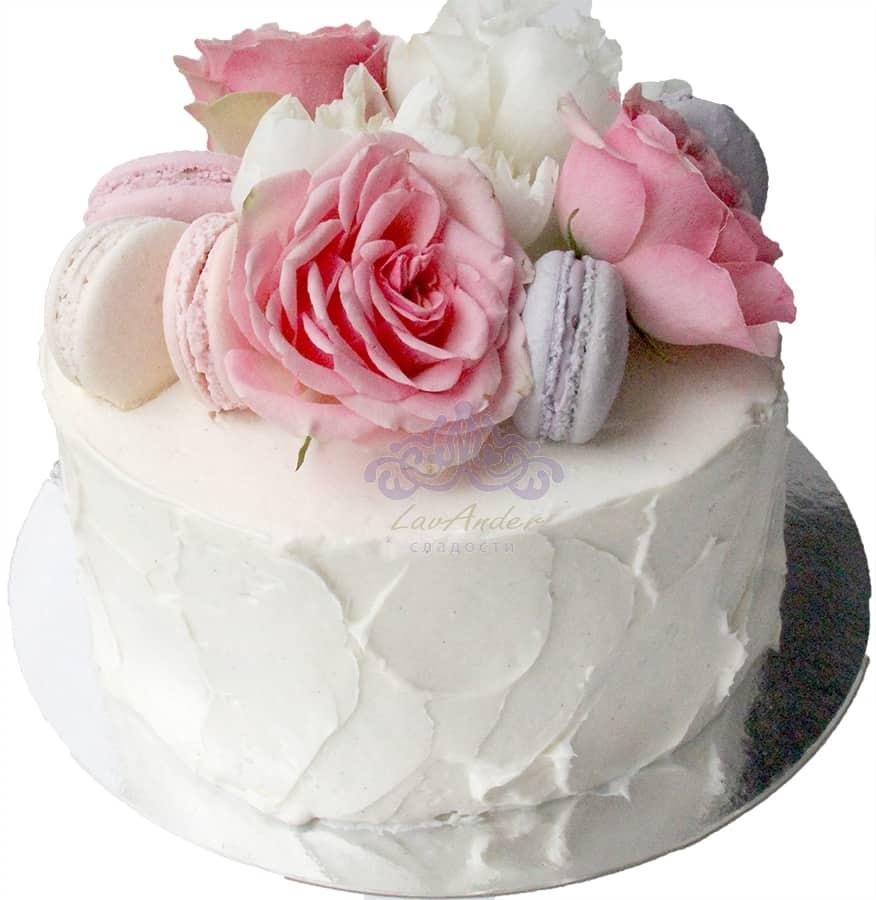 Торт Цветочный букет