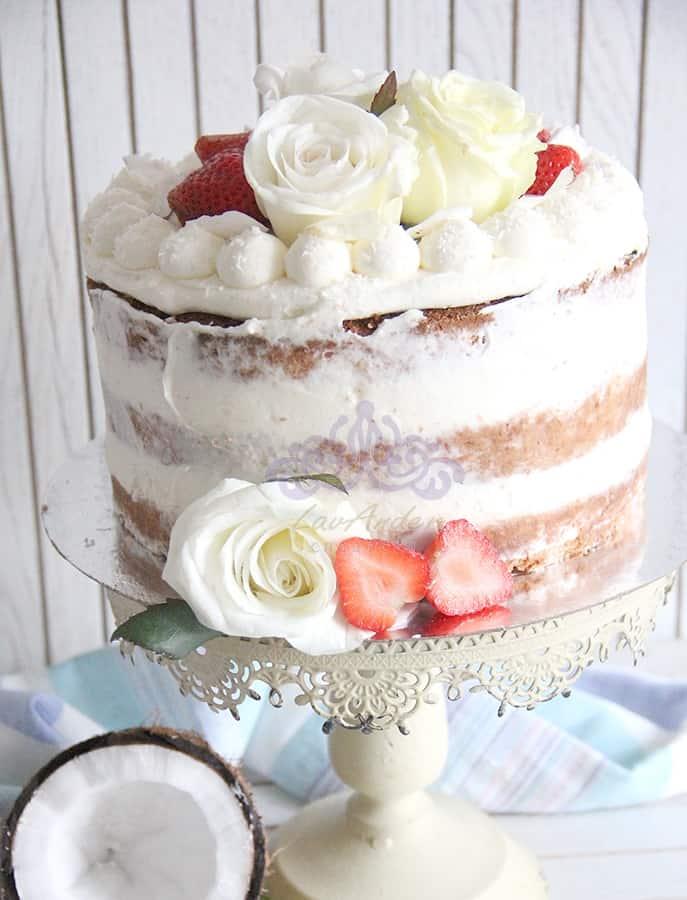 торт без глютена