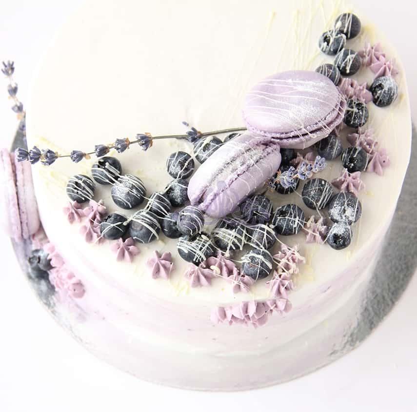 Торт Лаванда