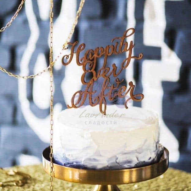 Топпер для торта – интересная идея оформления