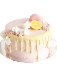 Клубничный торт без глютена