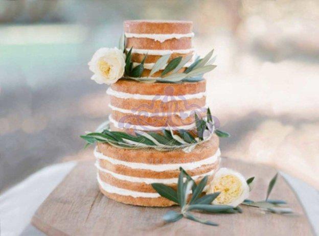 Главный тренд 2016 года – «голый» свадебный торт