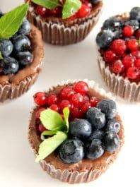 Шоколадный чизкейк (мини)