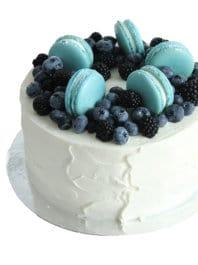 Торт Для мужчин с макаронс
