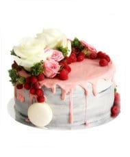 Торт Малиновое утро