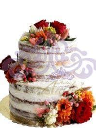 "Свадебный торт ""Осенние краски"""