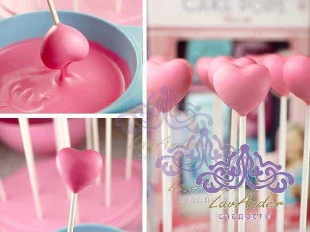 Molded Cake Pops: decorating