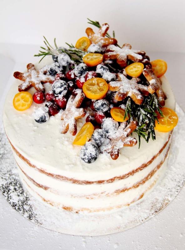 """Торт """"Снежинка"""""""