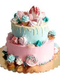 Детский торт «Сладкий фейерверк»