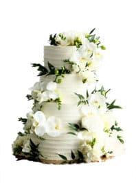 Свадебный торт «Орхидея»