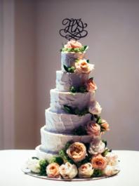 Свадебный торт 6 ярусов
