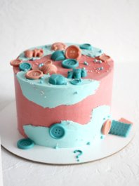 Торт на определение пола ребенка