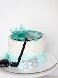 Торт для хокеиста